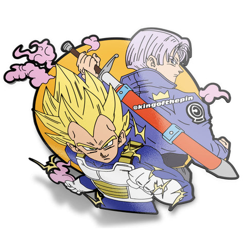 Badman Vegeta Word Sticker