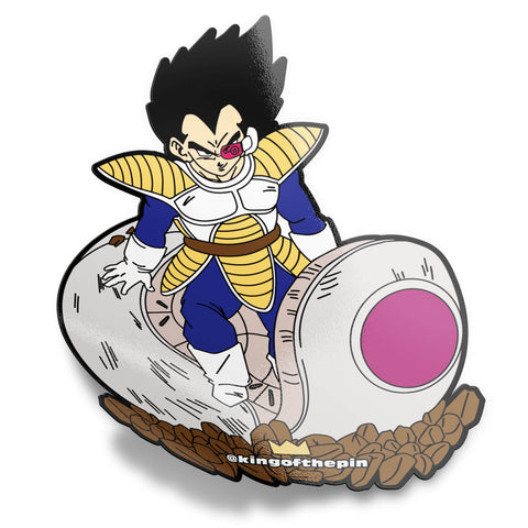 The Mighty Piccolo Sticker