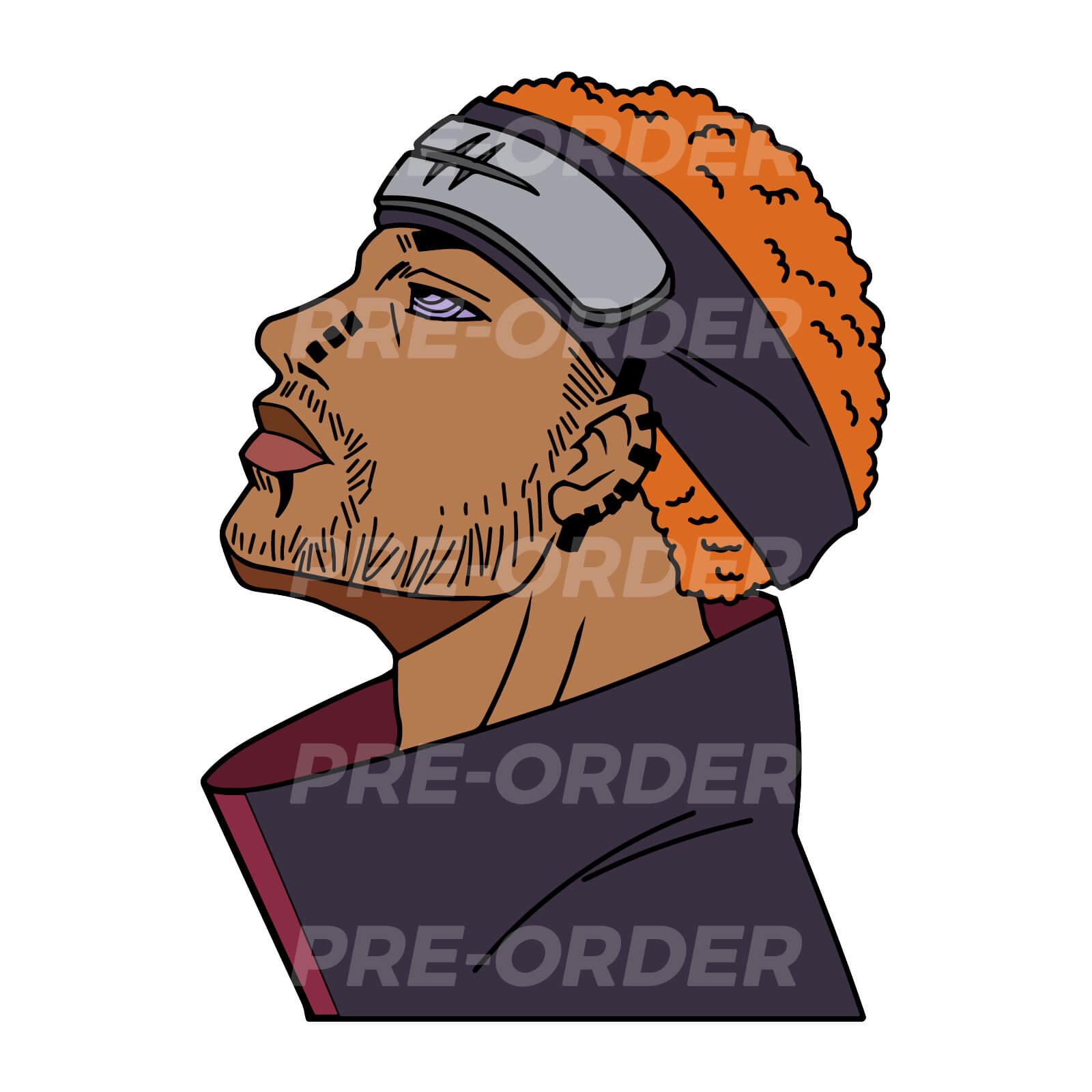 Will's Pain Enamel Pin (PREORDER)