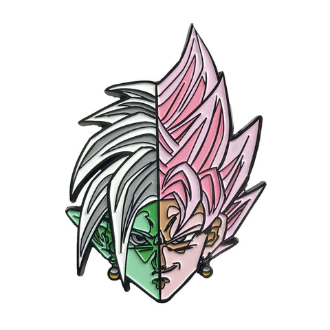 Goku vs Frieza Sliding Enamel Pin