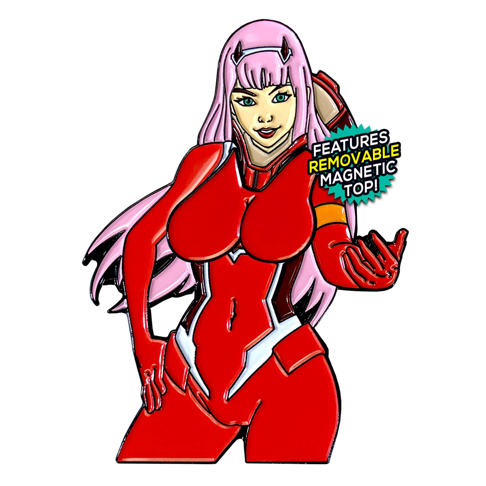 Zero Two After Hours Enamel Pin