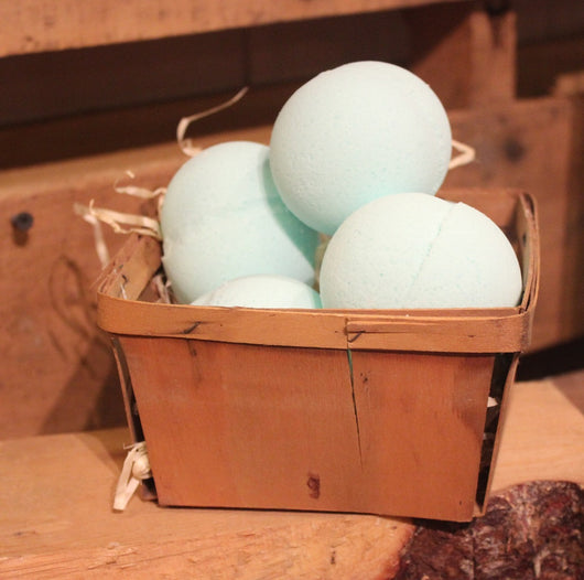 Sea Mist Fizzy Bath Bombs
