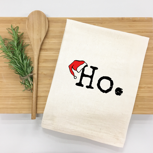 Ho. - tea towel