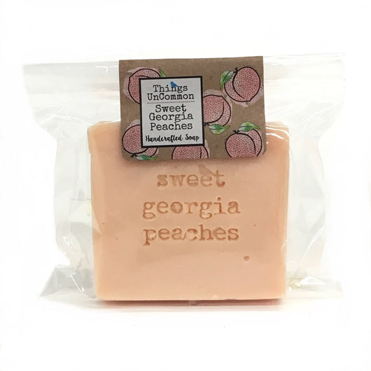 Sweet Georgia Peaches handcrafted soap