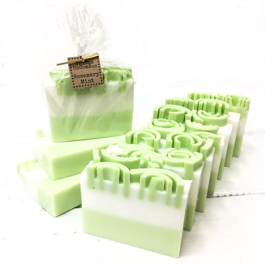 Rosemary Mint - Goat Milk Glycerin Soap