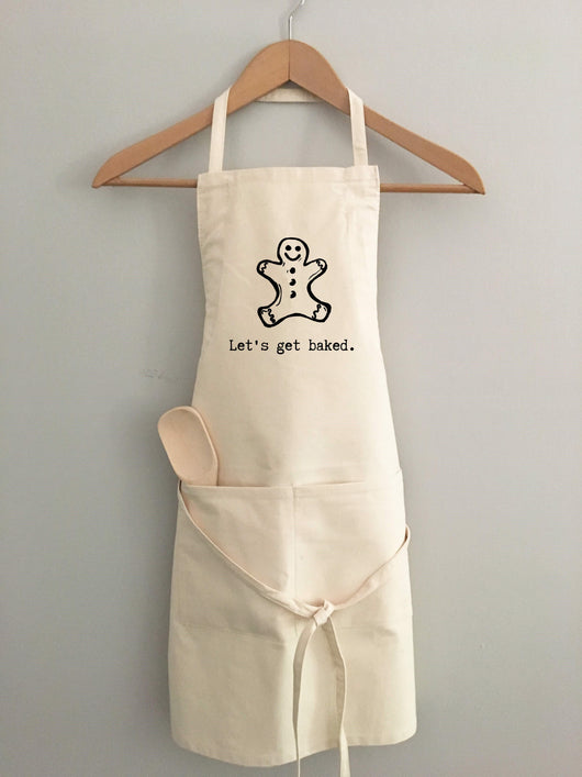 Let's get baked - apron