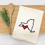 *State Love tea towel
