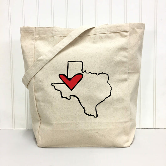 *State Love tote bag