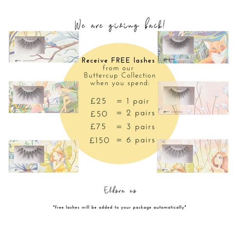 Free Eldora Buttercup Collection Lashes