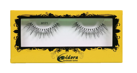 H171 Cruelty Free Human Hair False Lashes