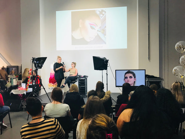 MUA Annie Cherry Live Makeup Demo