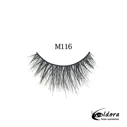 Eldora handmade fake lashes m116