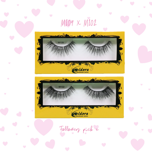 Pair of Eldora false eyelashes followers top picks