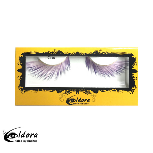 C146 Coloured False Lashes