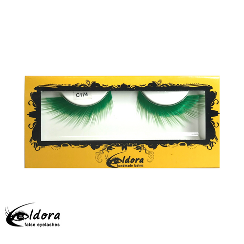 C174 Coloured False Lashes