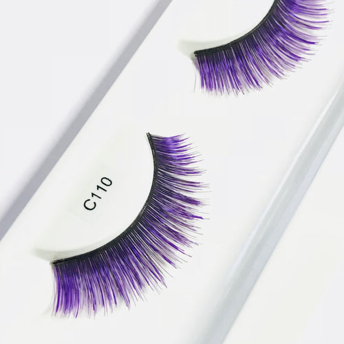 Purple Short Faux Eyelashes
