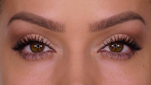 H166 Human Hair False Lashes