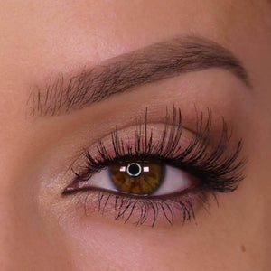 H168 Human Hair False Lashes