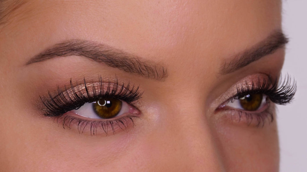 H104 Human Hair False Lashes