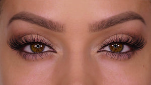 Natural looking lashes