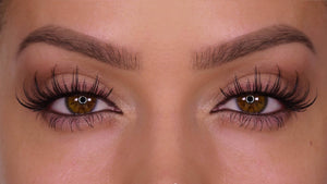 H175 Human Hair False Lashes