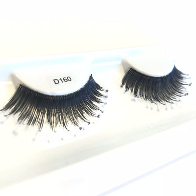 Diamante fake eyelashes