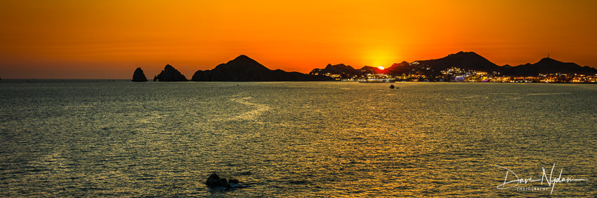 Cabo San Lucas at Sunset