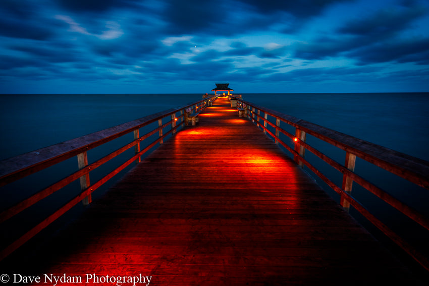 Naples Pier Before Sunrise