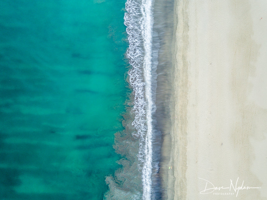 Aerial Photo of the Beach in Mexico