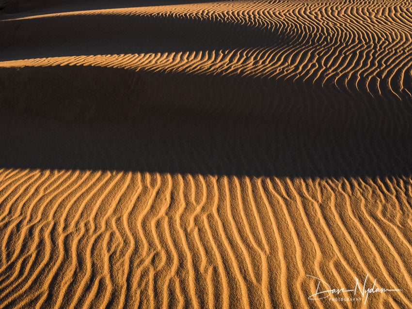 Vertical Sand Pattern in Great Sand Dunes National Park