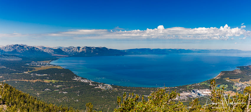 Lake Tahoe Pano from Heavenly Overlook