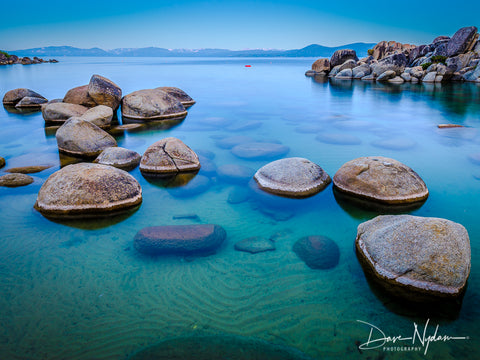 Sand Harbor with Boulders Lake Tahoe