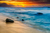 Banzai Beach Sunset Photograph as Limited Edition Fine Art Print