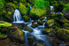 Small Waterfall and Creek Photograph as Limited Edition Fine Art Print