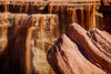 Chocolate Colored Waterfall Photograph as Fine Art Print