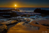 Sandy Beach Sunrise Photograph as Limited Edition Fine Art Print