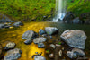Waterfall into Golden Pond Photograph as Limited Edition Fine Art Print