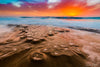 Tide Pools at Sunset Photograph as Limited Edition Fine Art Print