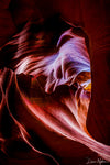 Heart Shape in Slot Canyons Photograph as Limited Edition Fine Art Print