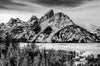 Snake River and Mountains Photograph as Fine Art Print