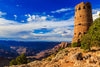 Desert Watchtower Photograph as Limited Edition Fine Art Print