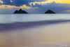 Hawaii's Twin Islands at Sunrise Photograph as Limited Edition Fine Art Print