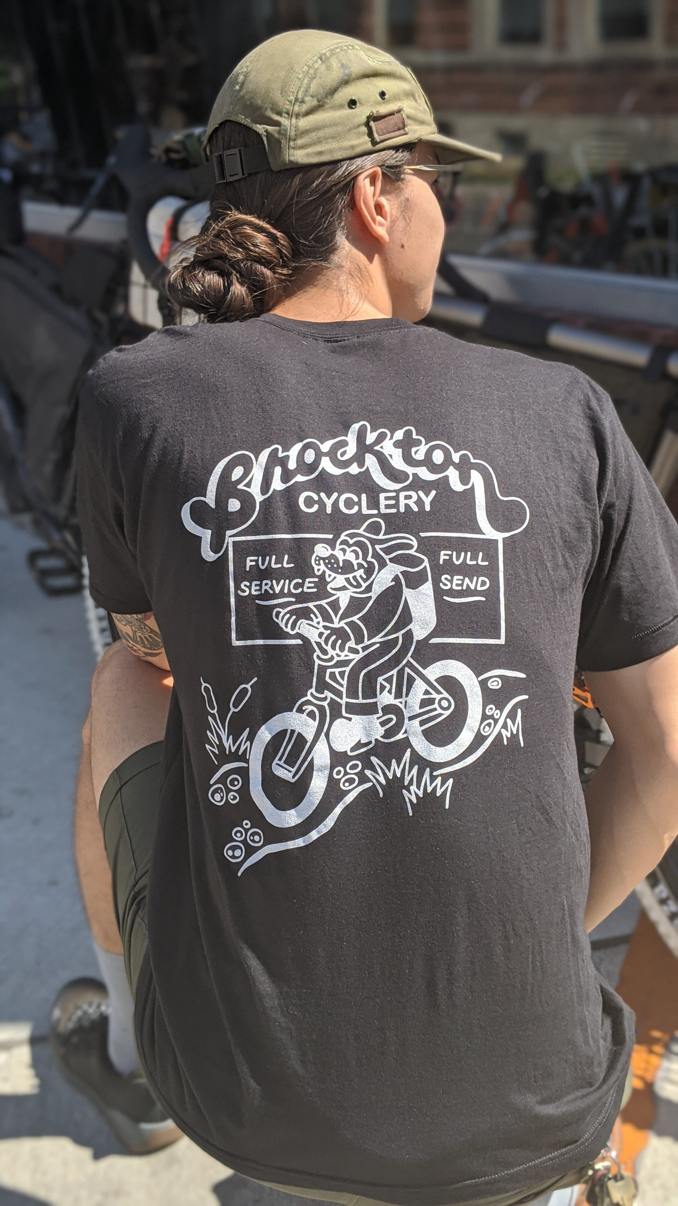 "Brockton Cyclery ""Full Service, Full Send"" T-Shirt"