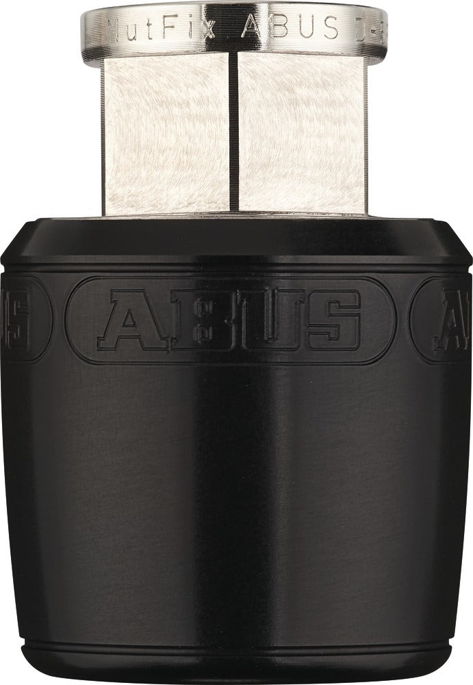Abus Nutfix Axle Set Locking Skewers Pair - 100/135mm O.L.D - Black