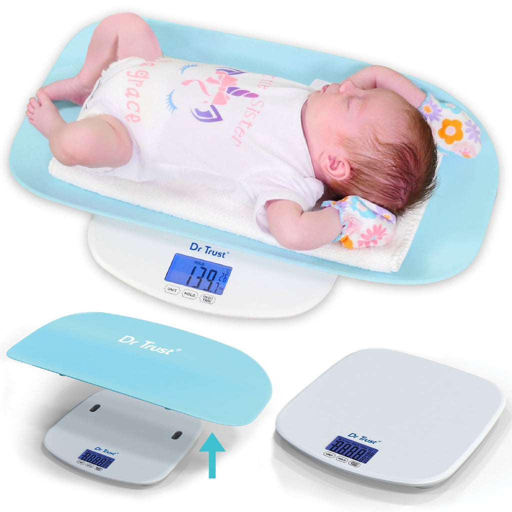 Dr Trust USA Growbuddy - Baby Infant Toddler and Adult Weighing Scale 510