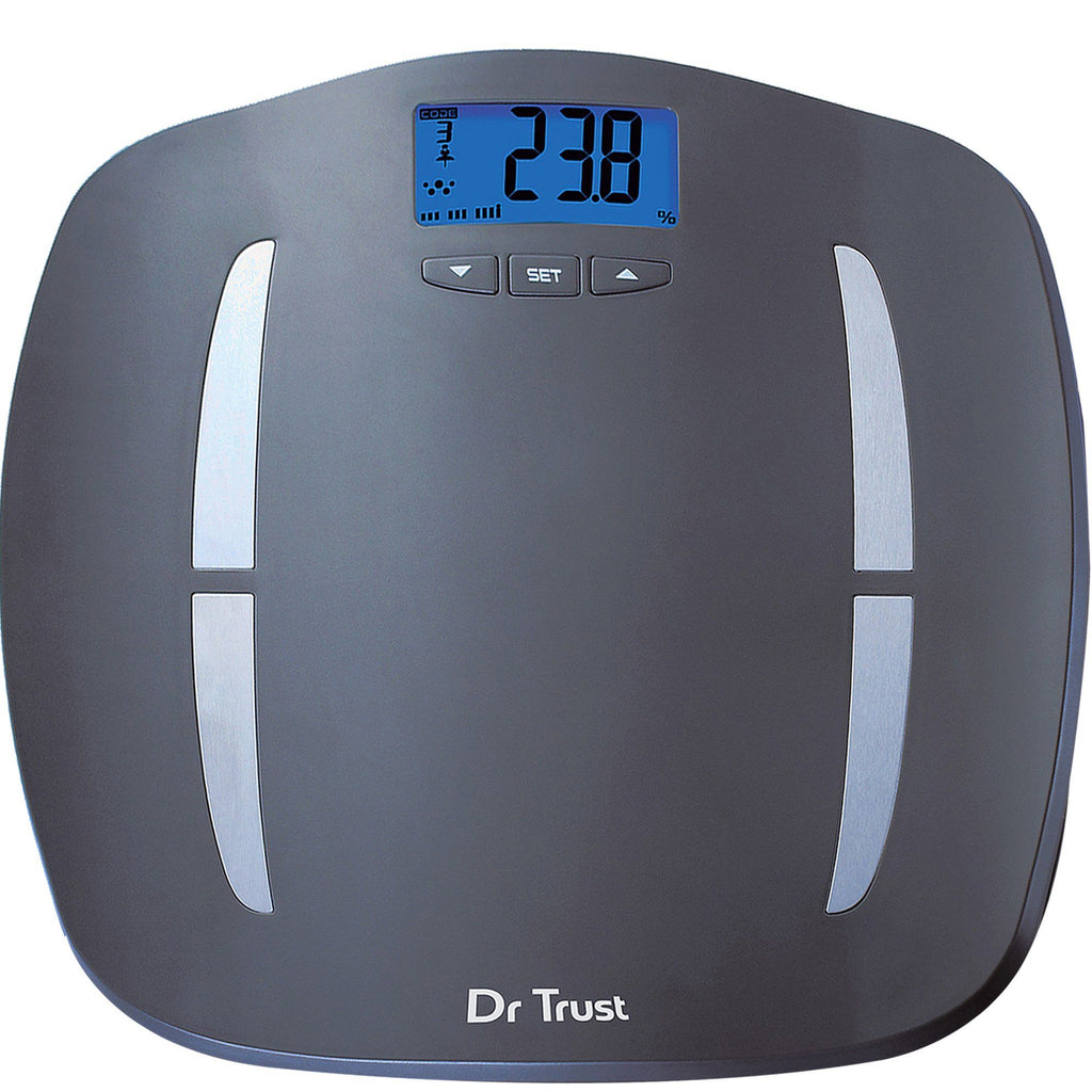 Dr Trust USA ABS Fitness Body Composition Monitor Weighing Machine 504
