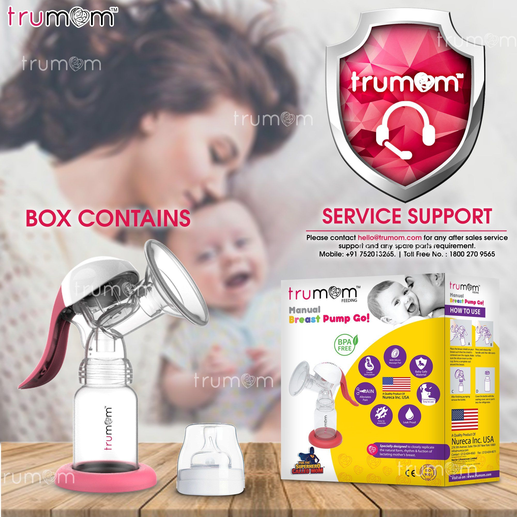 Trumom Manual breast pump - trumom