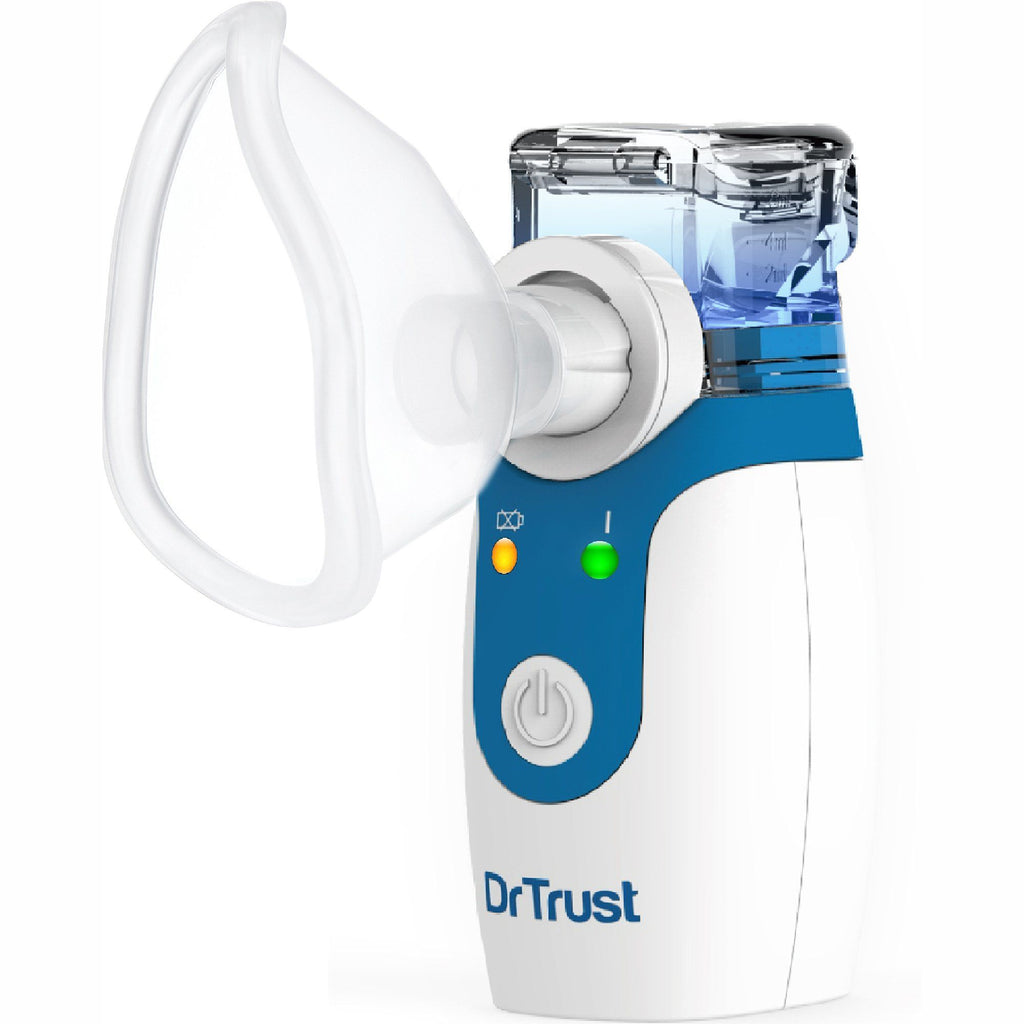 Dr Trust USA Portable Ultrasonic Mesh Nebulizer for kids and adults 404