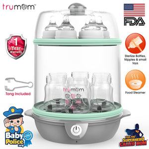 Trumom Electric Steam Sterilizer and Food Steamer - trumom