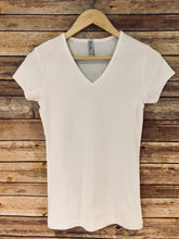 Baby Ribbed V-Neck Tshirt